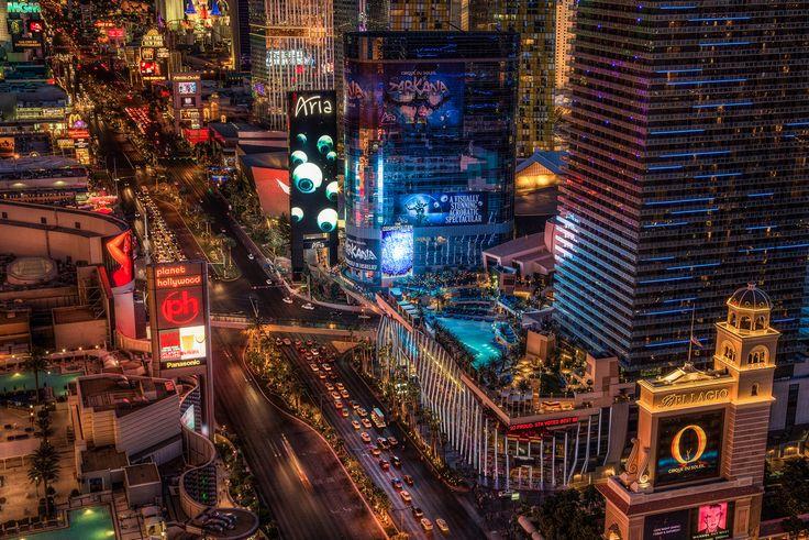 United States.  Las Vegas, Nevada.  Las Vegas-Strip.  (Justin Brown)