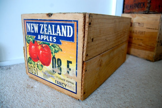 Kiwiana crates. great for cool storage