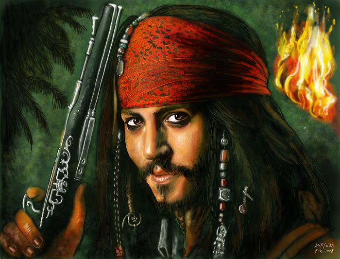 pirate johnny depp | ... in shape of Pirates of Caribbean 5 with Johnny Depp as main actor