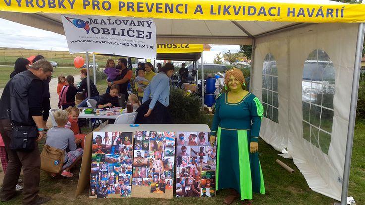 Víkend rybářských slavností s Jakubem Vágnerem, 17. - 18. 9. 2016, Pasohlávky - Malovaný obličej