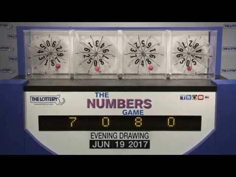 Evening Numbers Game Drawing: Monday, June 19, 2017 - http://LIFEWAYSVILLAGE.COM/lottery-lotto/evening-numbers-game-drawing-monday-june-19-2017/