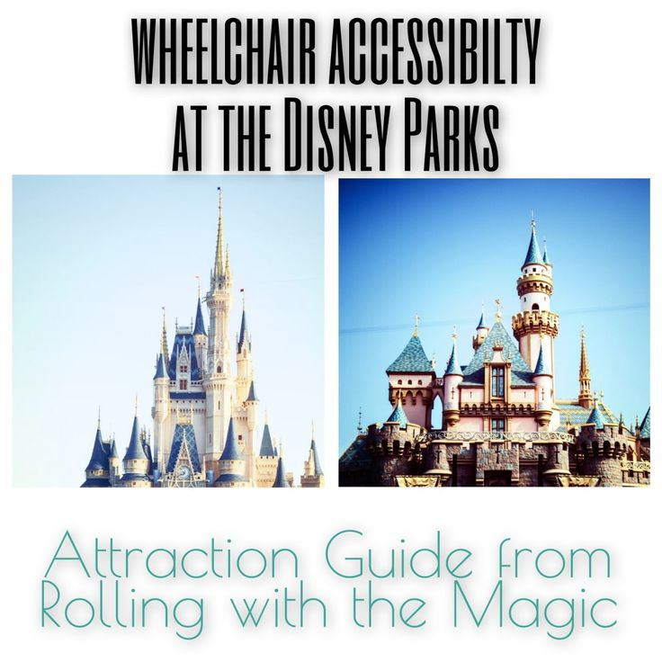 Excellent guide to wheelchair accessibility for  Walt Disney World and Disneyland attractions.