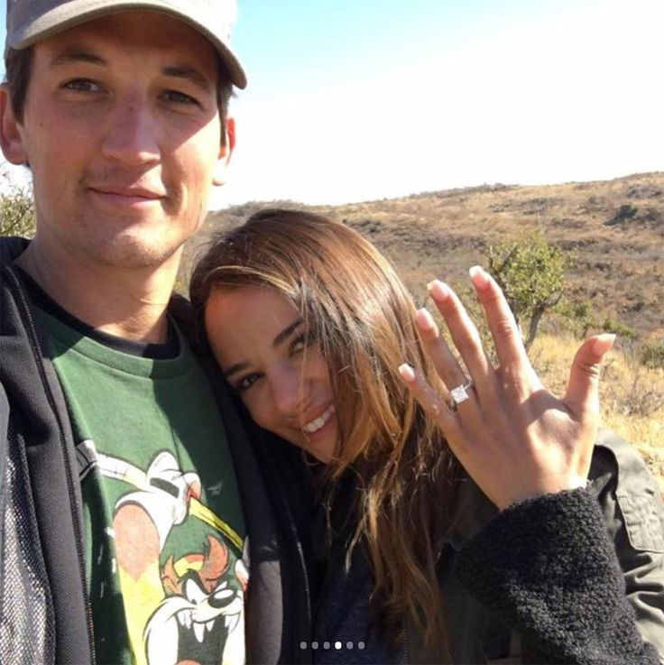 Miles Teller Is Engaged to Longtime Girlfriend Keleigh Sperry