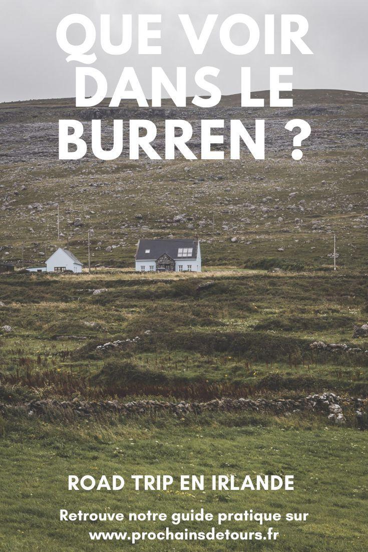 Vous Planifiez Un Road Trip En Irlande Noubliez Pas De Passer Par Le Burren Cette Superbe Region Geologiq Road Trip Irlande Vacances Irlande Voyage Irlande