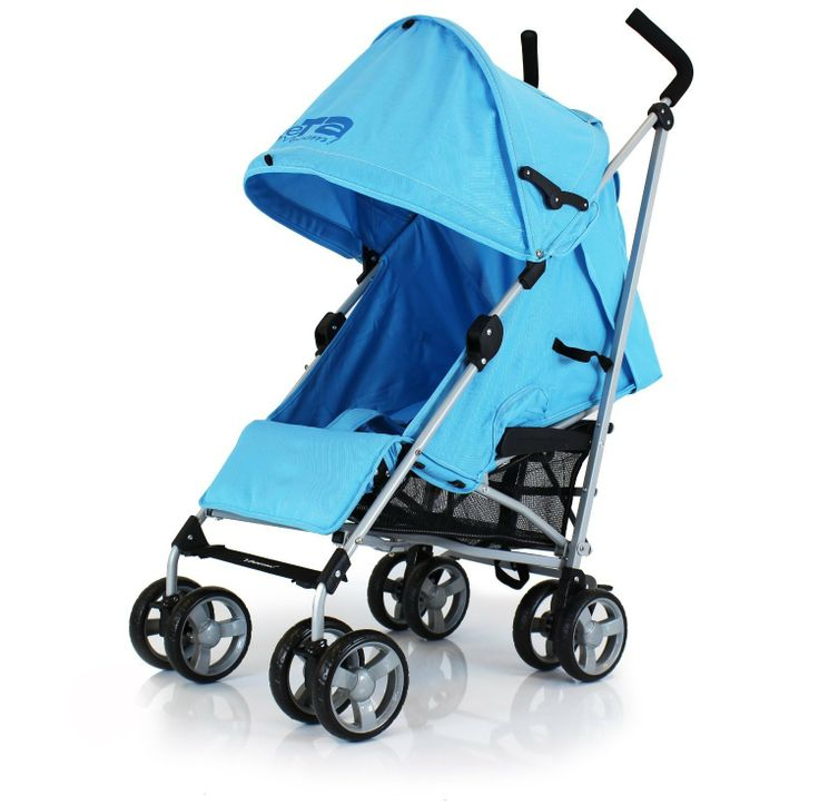 Baby Travel Zeta Vooom - Ocean Blue Stroller Buggy Pushchair From Birth Complete With Free Raincover: Amazon.co.uk: Baby