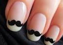 Mustache mustache mustache nails!: Nails Art, French Manicures, Nailart, Style, Moustache Nails, Nailsart, Beautiful, Mustache Nails, Mustachenails