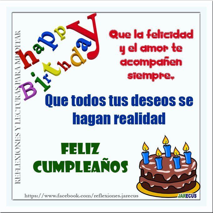 Feliz cumpelaños Feliz cumpleaños Pinterest