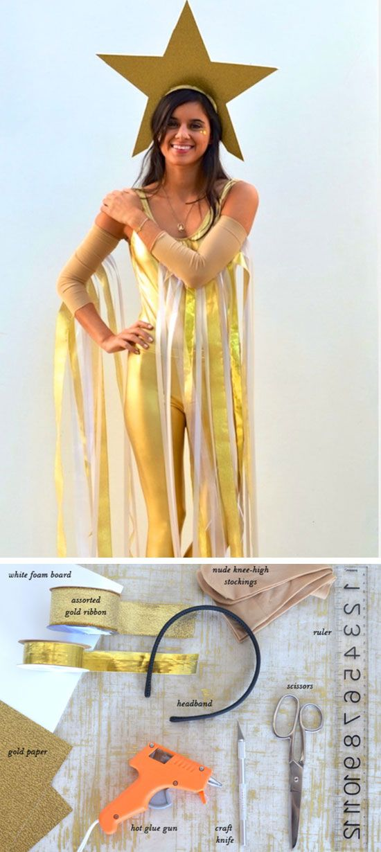 DIY Shooting Star Costume   Click Pic for 22 Easy DIY Halloween Costumes for Women 2014   Last Minute Halloween Costumes for Women