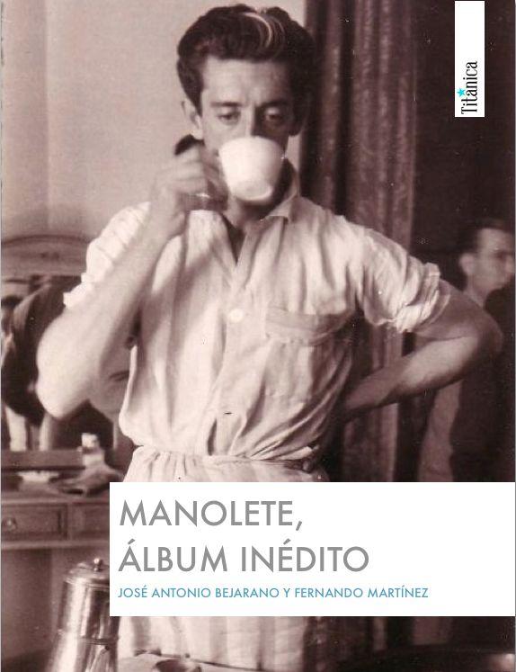 Portada de Manolete, álbum inédito
