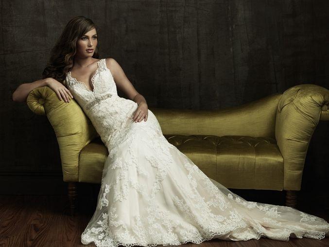 Продам французское свадебное платье бу очень красивое