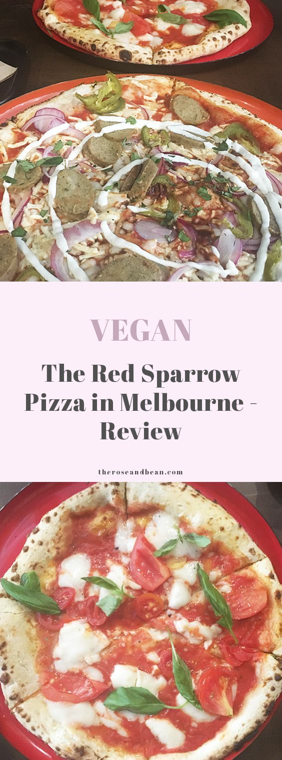The Red Sparrow Pizza is the first entirely vegan pizzeria in Melbourne