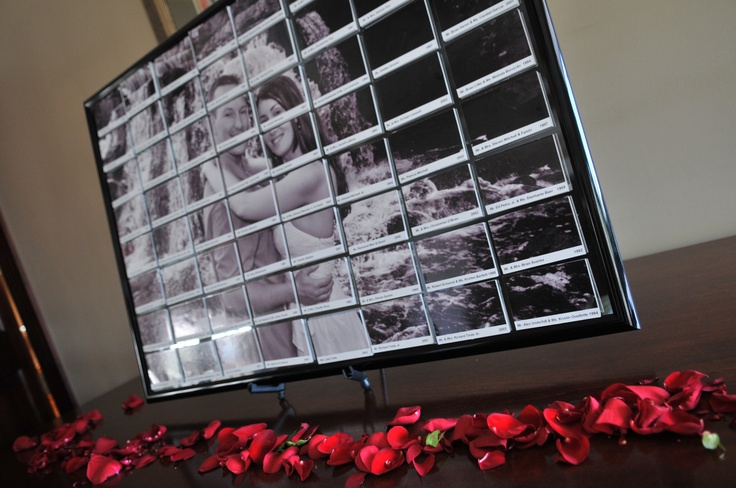 Wedding Escort Board Ideas : Photo escort board wedding ideas photos