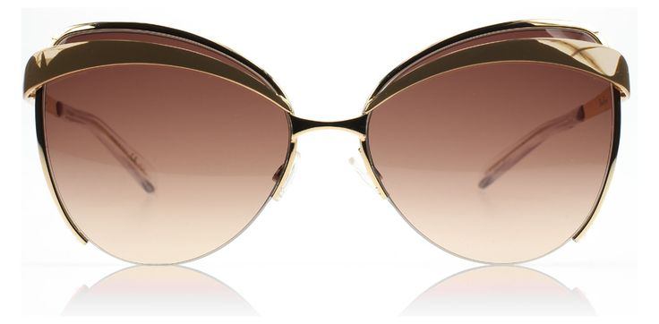 Dior Eyes 1 Solbriller : Eyes 1 Rosaguld Og Brun : DK