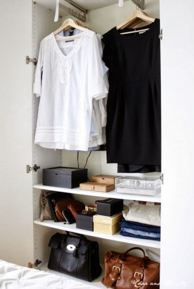 17 best images about casita closets on pinterest coats sarah richardson and wardrobes - Small closet space minimalist ...