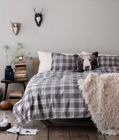Faux Fur Throw | H&M US Home. Would be perfect to throw over office chair. $79.95
