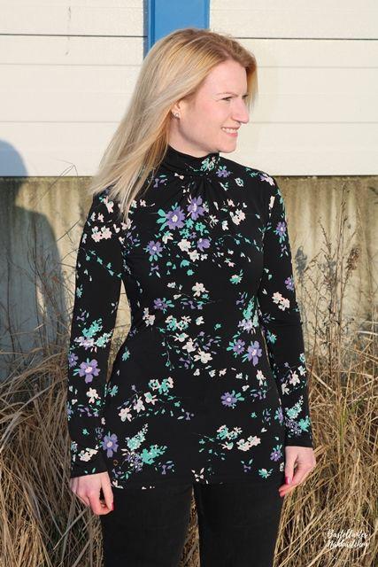 Shirt Sore aus Viskosejersey Schnittmuster von Schnittquelle genäht von Basteltantes Nähkästchen - Selbst genähte Mode für Frauen