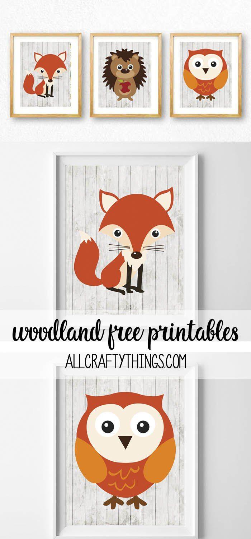 185 best Druckvorlagen images on Pinterest | Fox, Printables and ...