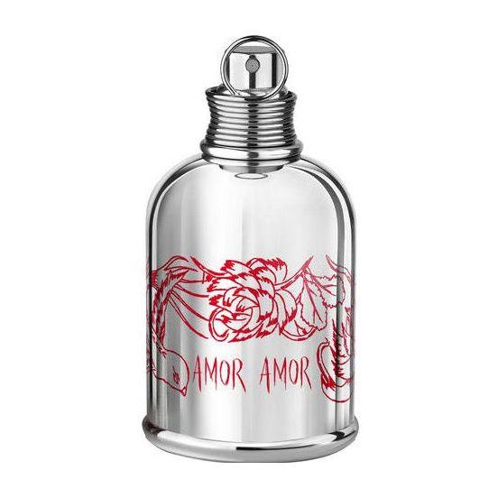Amor Amor Lili Choi от Cacharel  «Cacharel Amor by Lili Choi» - это особенный женский аромат. Дизайн флакона разработан корейским визажистом и мастером тату Лили Чой. Дивный узор в виде татуировки опоясывает металлическую бутылку. Облаченная в серебро и украшенная изящными татуировкам