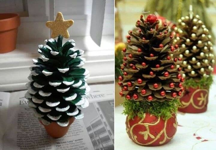 Make your own Christmas decoration.
