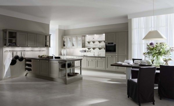 Kitchen cabinets light colors Island painting modern idea