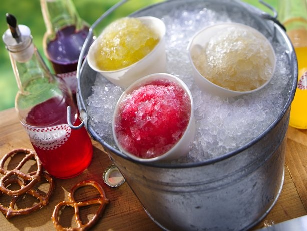 Snow cones Beer and Snow on Pinterest