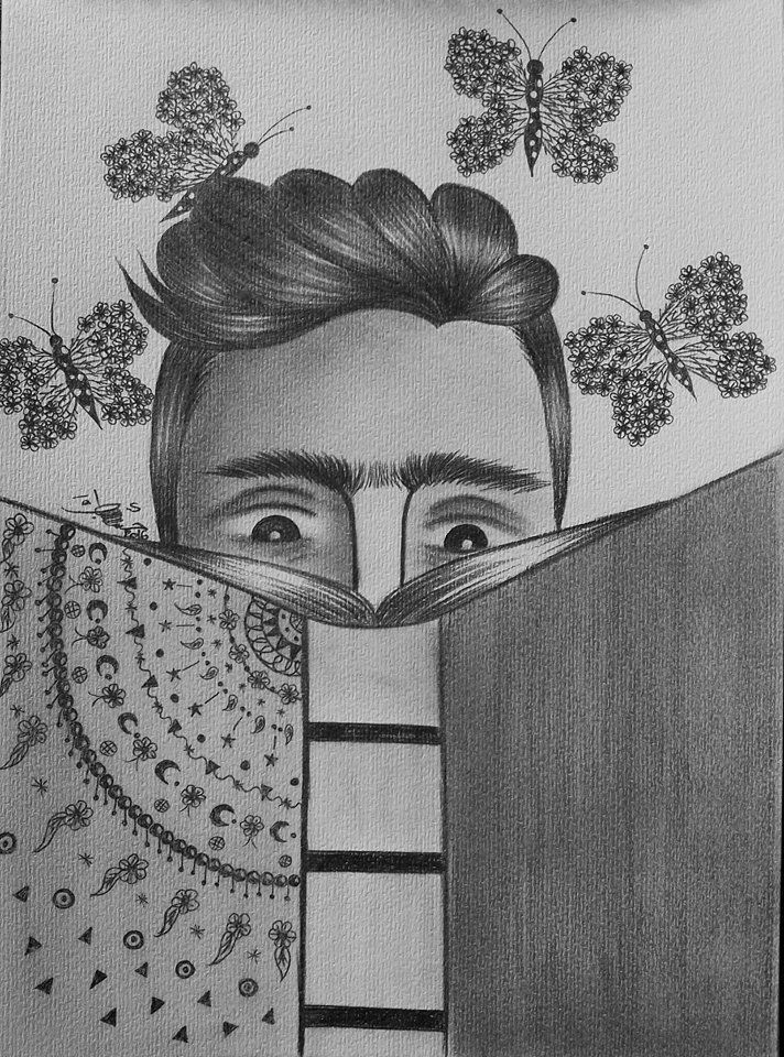 رسم بالرصاص | Drawing رسم | Art sketches, Sketches, Drawings