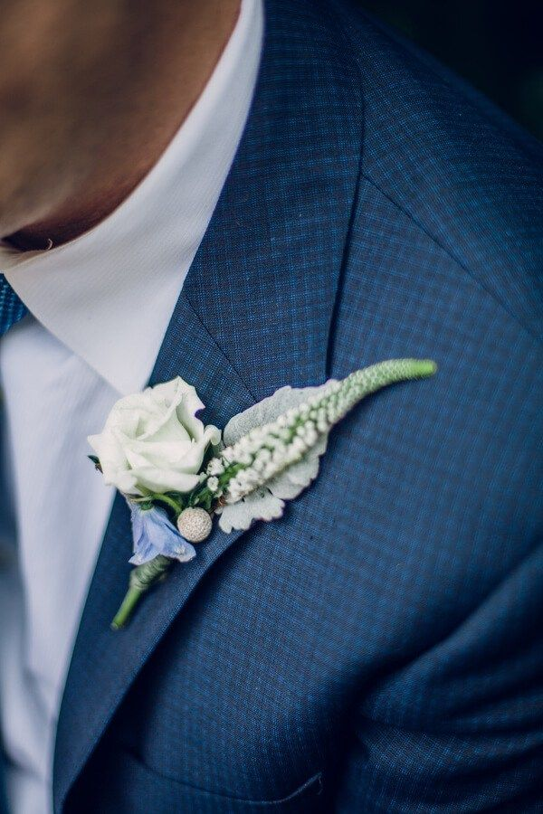 Biltmore Estate Anniversary Session - Boutonniere