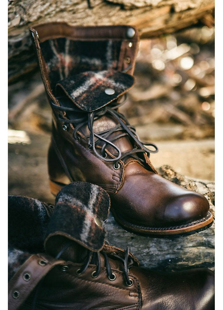 Omaha's premier lifestyle magazine, Inspired Living Omaha, featured Overland's Men's Walk-Over Ian Fold-Over Leather Jump Boots (style 51704) for the urban outdoorsman, rugged style packs the brawn for work and the weekend.