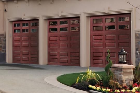 15 best classic cars garages images on pinterest garage for Faux wood garage doors prices