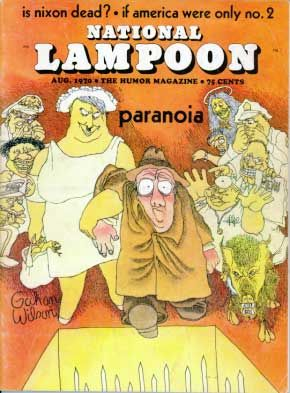 National Lampoon Magazine  # 5 - August 1970 pdf Back Issues Collection  Archives Download DVD Ebay Amazon