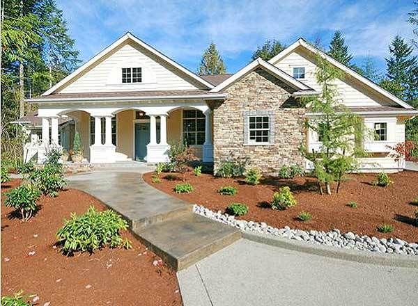 Plan 23225JD: Stunning Classical Facade With Unique Floor Plan