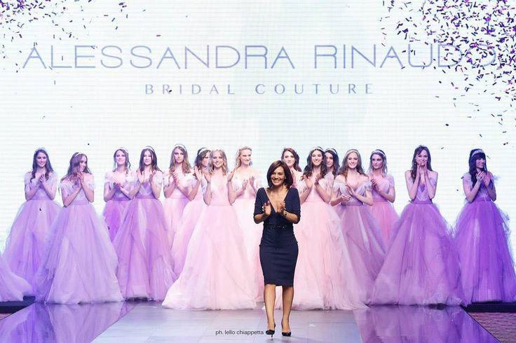 Alessandra Rinaudo, final of #RomaFashionShow #2016collection #collections #fashion #bride #brides #bridal #wedding #weddingdress #nicole #colet #jolies #romance #nicolespose #AlessandraRinaudo www.nicolespose.it