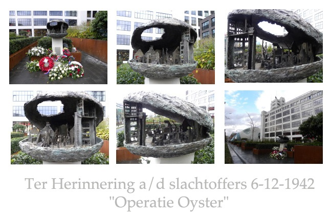 Monument Operatie Oyster 6-12-1942 , Eindhoven, Demer