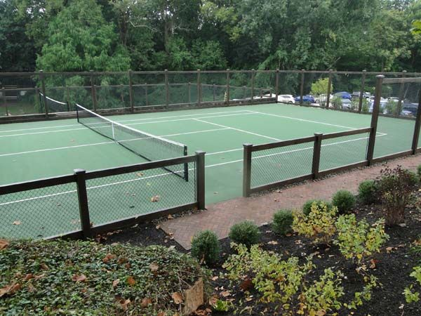 Image Result For Tennis Courts With Wooden Fences Tennis Court Tennis Court