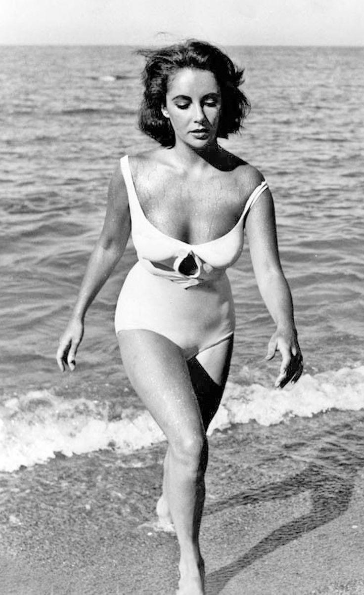 liz taylor en bikini