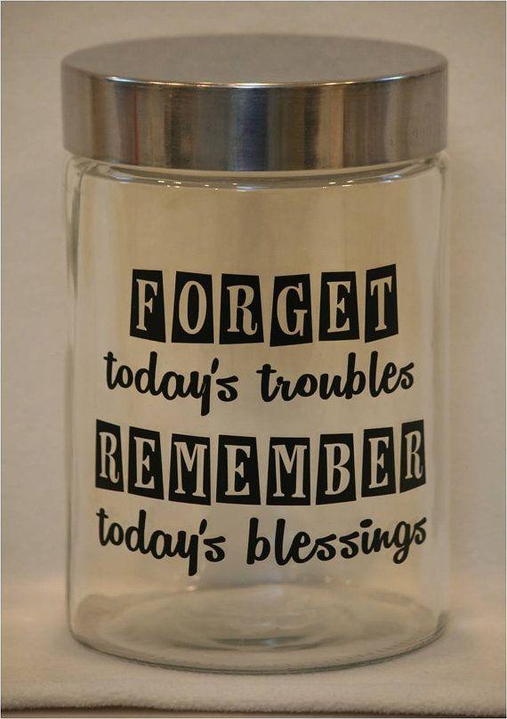 Blessing/Gratitude Jar High Grade Exterior Vinyl on by JoyousDays