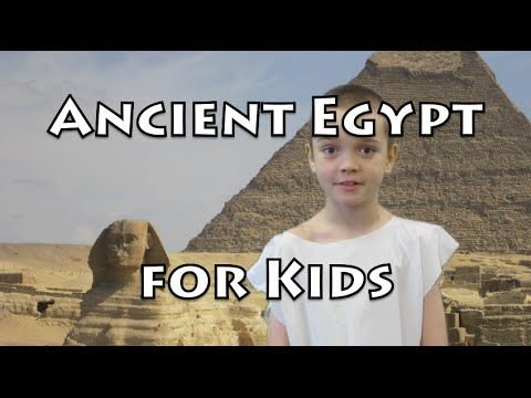 Ancient Egypt for Kids - The Great Pyramids - YouTube