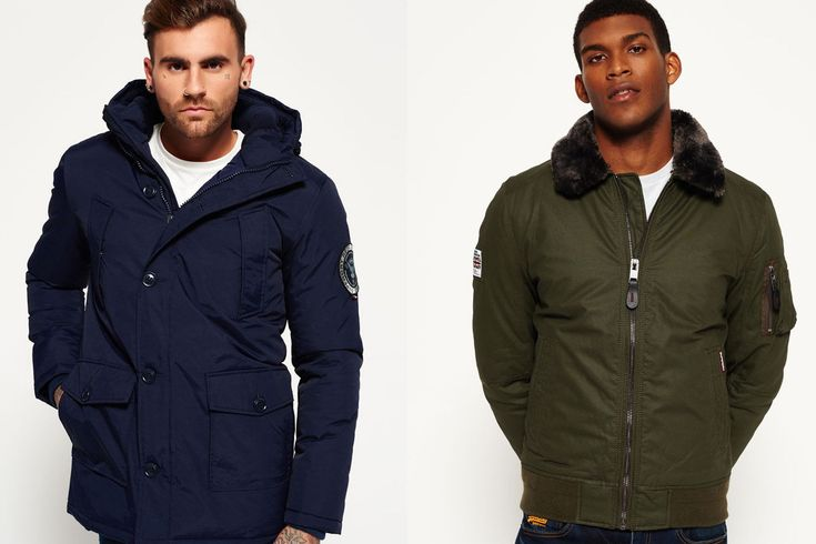 New Mens Superdry Jackets Selection 1812 4