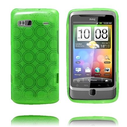 Amazona (Grønn) HTC Desire Z Deksel
