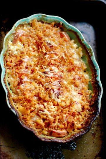 ... in my belly? I'm dying. Sweet Potato Gratin with Smoky Breadcrumbs