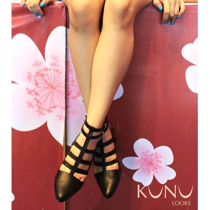 Gladiator Heels Sandal, Leather Shoes by Kunu Looks