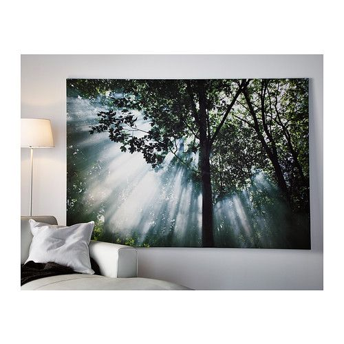 Premi r picture crescendo of light ikea pictures and feelings - Ikea tableau decoration ...