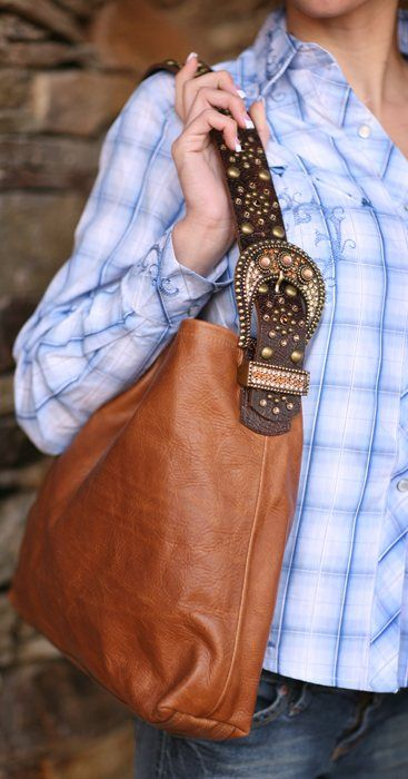Leatherock Brown And Tan Hobo Bag From Smith Western Handbags Pinterest Bags Westerns