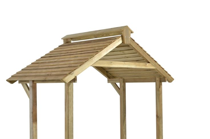 Forest Wooden BBQ Shelter 6'x4' in 2020 | Bbq shelter ...