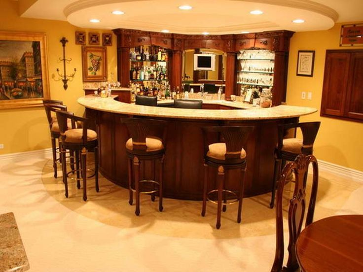 Basement Bars Designs Entrancing Decorating Inspiration