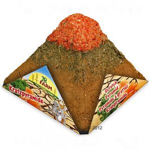 JR Farm Pyramide à griffer pour rongeur