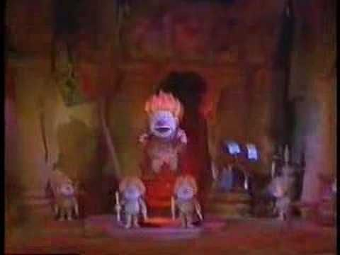 """Snow Miser- Heat Miser.  From """"A Year without a Santa Claus"""""""
