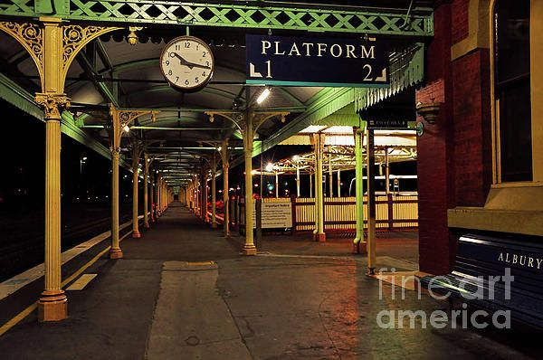 Beautiful Old #Albury #Station by #Kaye_Menner #Photography Quality Prints Cards Products at: http://kaye-menner.pixels.com/featured/beautiful-old-albury-station-by-kaye-menner-kaye-menner.html