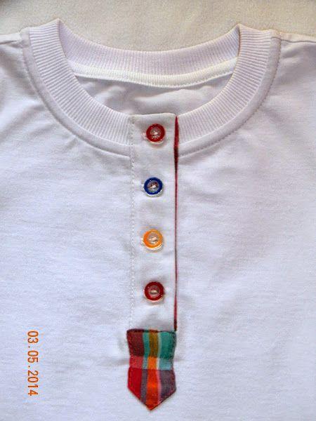 МК застжки-поло на футболке