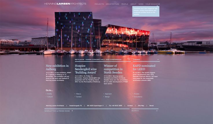 Website / Henning Larsen Architects / 1508